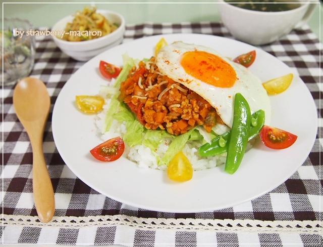 2.栄養満点!野菜たっぷりタコライス