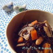 【基本の常備菜】具沢山ひじきの煮物〜ばあば直伝レシピ〜お弁当にも♪