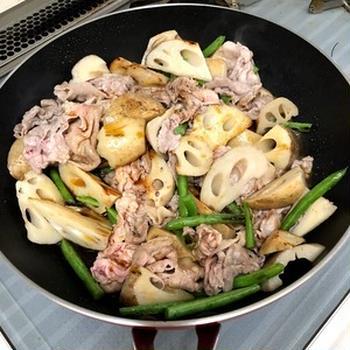【レンコンと豚肉の酢醤油煮】と昨日の晩ごはん※「クミン」の謎