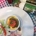モニター商品「スパドレ・ジェノベーゼバジルソース」でおもてなしサラダ~♪♪ by pentaさん