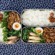醤油麹でふっくら♡豚こま炒め弁当【レシピ】