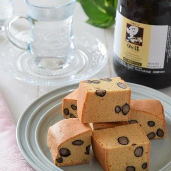 【カイハウス】黒豆ときな粉のケーキ♡本格芋焼酎ペアリングレシピ♪芋焼酎&スイーツが大人美味!
