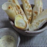 お餅&明太チーズ&紫蘇+ペッパーマヨディップ
