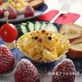 クリスマスの朝ごはん☆可愛いプレート