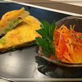 彩り綺麗な和風オムレツ~高野豆腐入りでボリュームアップ~♪