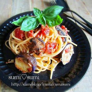 夏におすすめ!今日すぐ作れる「なすのトマトスパゲティ」