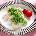 鶏胸肉の水晶鶏のブロッコリーソース【カンタン醤油マヨ風味】 レシピ・作り方