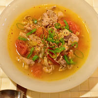 11月10日 金曜日 豚とトマトのスープ