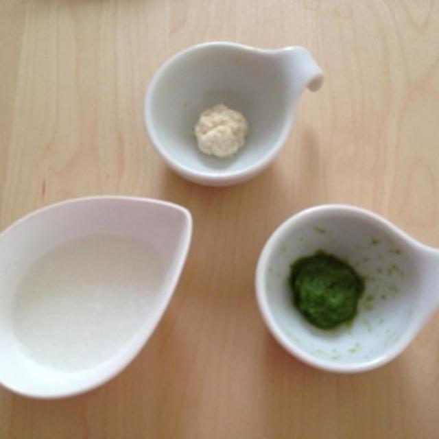 離乳食 * 小松菜