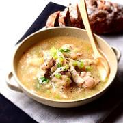 鶏と蕪のみぞれスープ