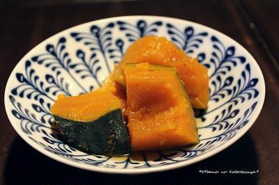 かぼちゃ甘辛煮