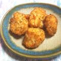 鮭のバジル・チーズフライ