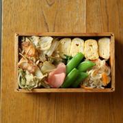 白菜漬け炒め弁当