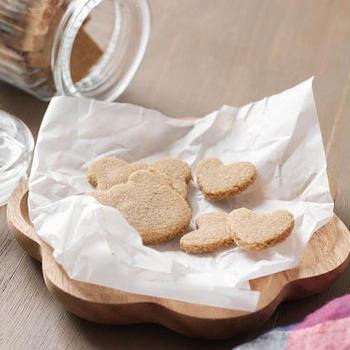 レシピ:米粉と米ぬかで作る。バターなしアーモンドなしのサクサククッキー