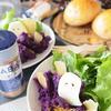 紫芋の墓場サラダ