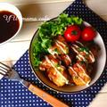 照り焼きチキンマヨ♡ お弁当おかず。〜朝のチビくん☆パイナポー〜