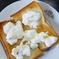 カッテージチーズ風トースト1
