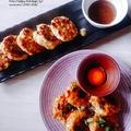 《レシピ》つくね♪タレ2種♡梅肉タレ&甘辛タレ☆ と、本日のわんこ。
