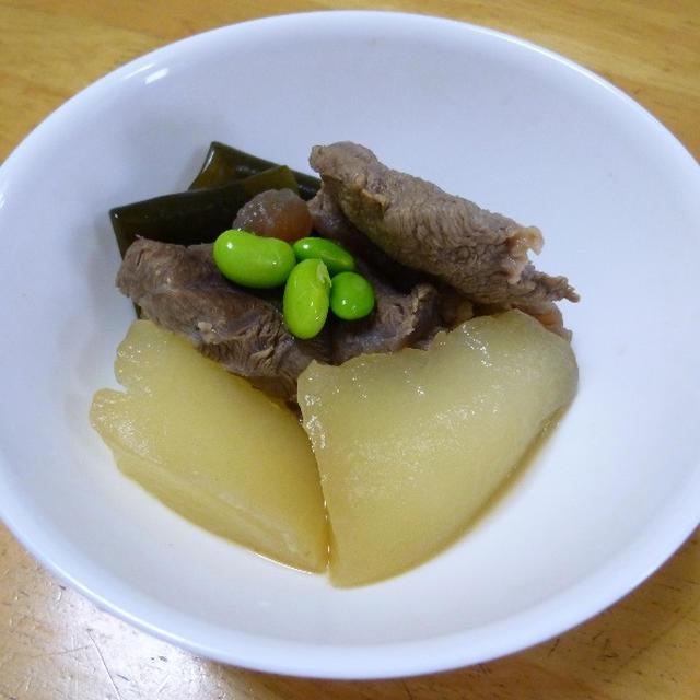 冬瓜と牛筋の冷や煮
