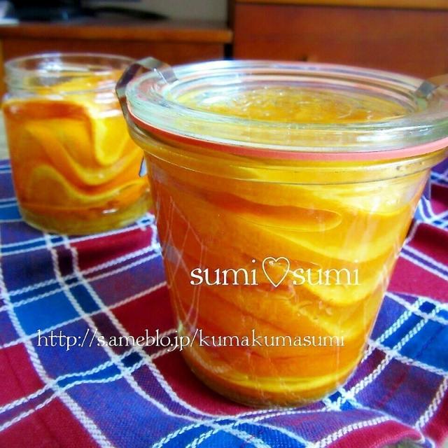 材料2つ♥まるごと清見のオレンジスライスジャム