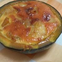 ミニかぼちゃとリンゴのシナモンココット