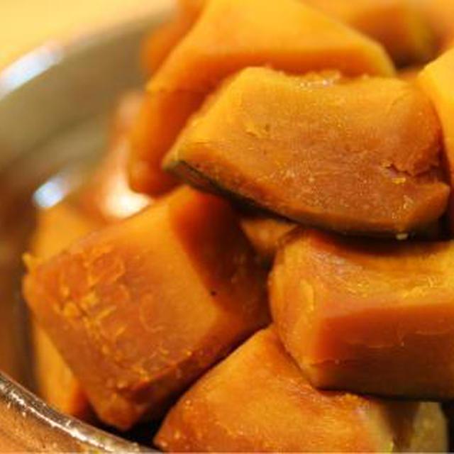 ■ほっくりこっくり好きの*かぼちゃの煮物■