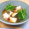 鱈のみぞれ鍋風スープ