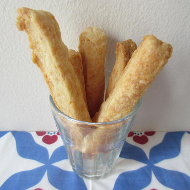 <イギリス・レシピ> チーズ・ストロー【Cheese Straws】