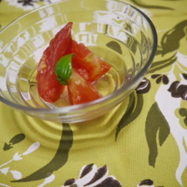 *トマトのジンジャー漬けレシピ*