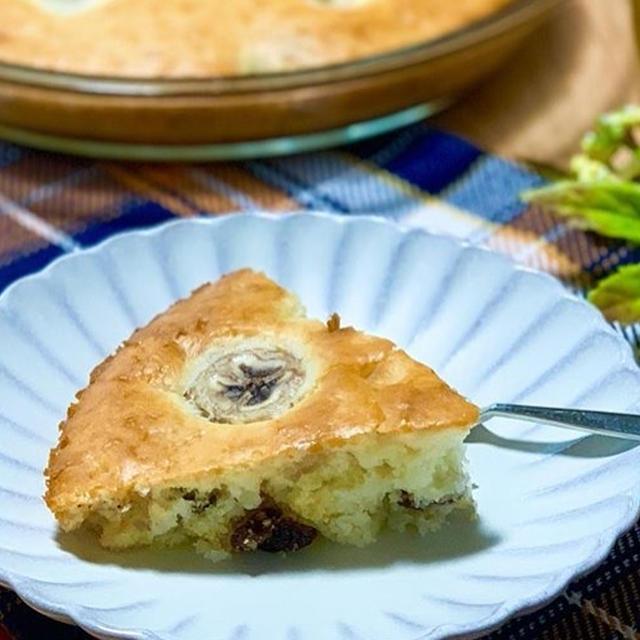 おうち時間に☕️混ぜて焼くだけ!バナナケーキレシピ