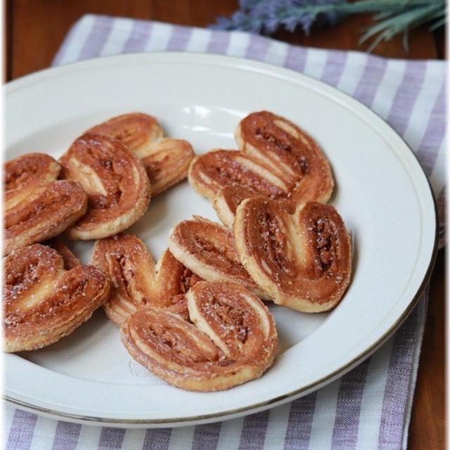 【レシピ】キャラメルナッツのパルミエ。と 5時間も。5分で。
