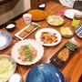 晩御飯はおかずいろいろです〜!!