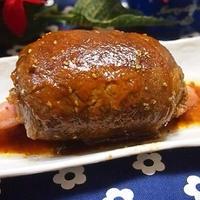 マンモス肉を再現したマンガ肉風