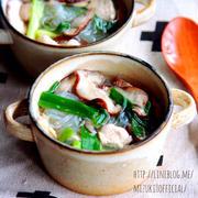 ♡超簡単ヘルシー♡ささみの中華春雨スープ♡【#時短#節約#朝食】