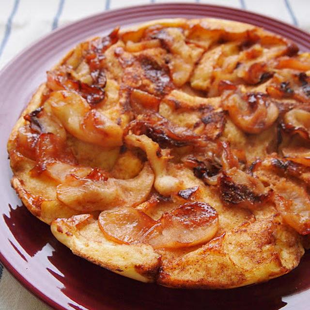 アップルシナモンさかさまパンケーキ