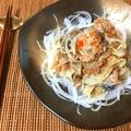 血液激サラサラ。梅味噌おろしの鉄板サバ水煮オニオンサラダ(糖質7.5g)