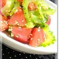 ■ゴーヤとトマトのサラダ by qooakiさん