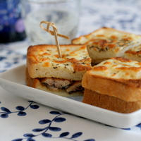 秋刀魚の蒲焼きチーズトースト