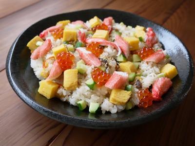 お手軽海鮮ちらし寿司