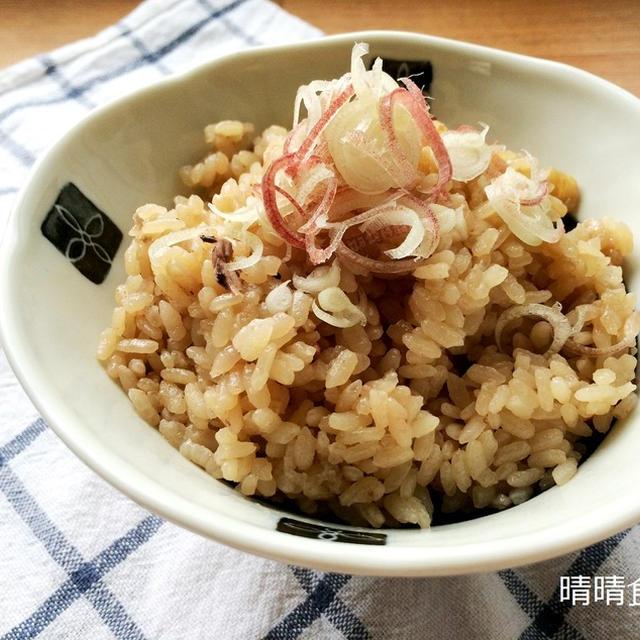 ミョウガもたっぷり♪塩辛で簡単なのにとっても美味しい炊き込みご飯。