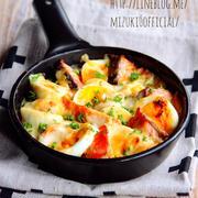 ♡トースターde超簡単♡鮭と卵の味噌マヨチーズ焼き♡【#魚#火を使わないレシピ】