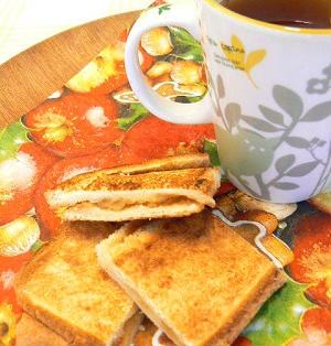 【うちレシピ】リンゴジャム・トースト☆シナモン風味