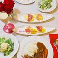 ビーフカレー(レシピ付)/Beef Curry and Rice