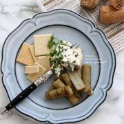 <レシピ>ごぼうの蜜煮 ブルーチーズ添え