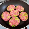 包丁を使わずに作れる【枝豆バーグ】と休肝日の晩ごはんとハナマルキさんの液体塩こうじのレシピ開発