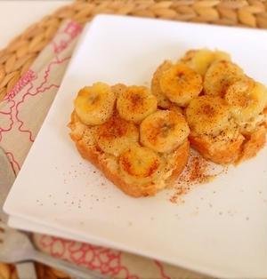 【ミイルBlog掲載♪】焼きバナナのシナモン豆乳フレンチトースト風