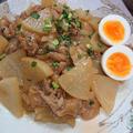 レンジで大根と豚肉の甘辛炒め煮(簡単、時短)