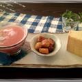 大好き桃&スイカのコラボ♡ピンクスムージーでお・も・て・な・し~σ(*´∀`*)