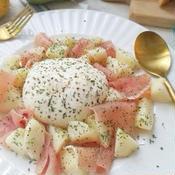 モッツァレラと洋梨のサラダ