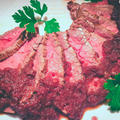 ローストビーフの玉ねぎ赤ワインソース by 低温調理器 BONIQさん